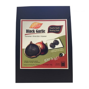 BLACK GARLIC (250g) Organically Cultivated