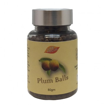 PLUM BALLS (80G) ORGANICALLY CULTIVATED