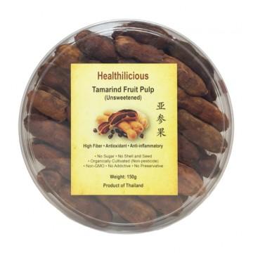 TAMARIND FRUIT PULP (UNSWEETENED) (150g)