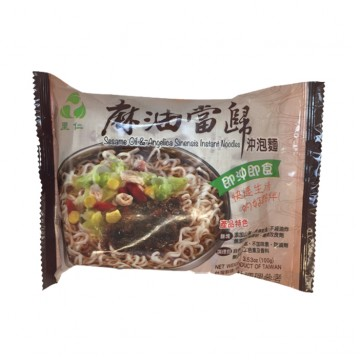 SESAME OIL AND ANGELICA SINENSIS INSTANT NOODLES (100G)