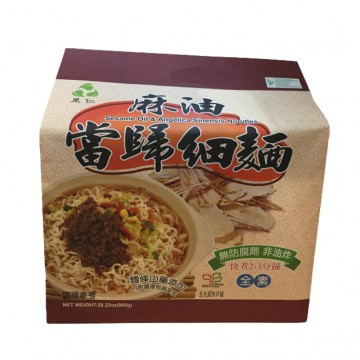 SESAME OIL AND ANGELICA SINENSIS INSTANT NOODLES (800G)