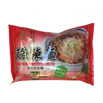 HOT AND SOUR INSTANT NOODLES (105G)