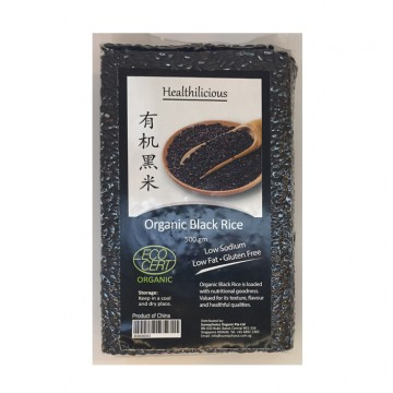 ORGANIC BLACK RICE (500 gm)