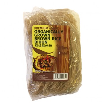 BROWN RICE BIHUN (400G) ORGANICALLY GROWN
