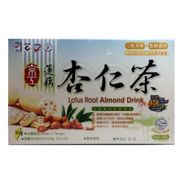 LOTUS ROOT ALMOND DRINK (10 BAGS)