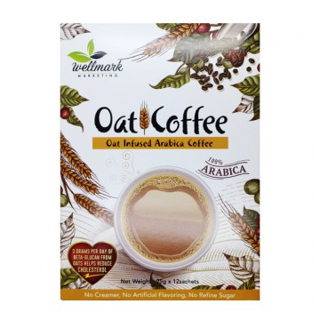 OAT INFUSED ARABICA COFFEE (12 SACHETS)