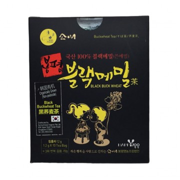 BLACK BUCKWHEAT TEA (10 bags or 25 bags X 1.2g) ORGANICALLY GROWN