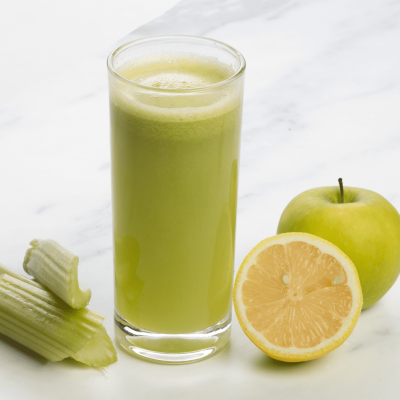 Detox Green Juice (Green Apple, Celery, Lemon)