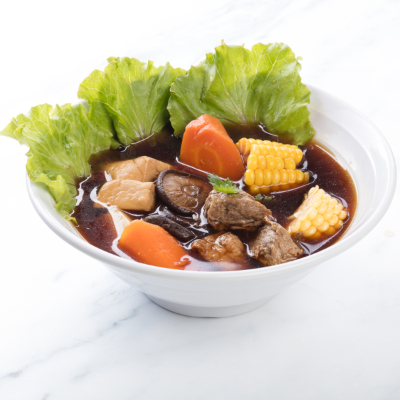 Bak Kut Teh Vegetable Soup