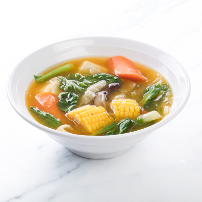 Mixed Vegetables in Pumpkin Broth